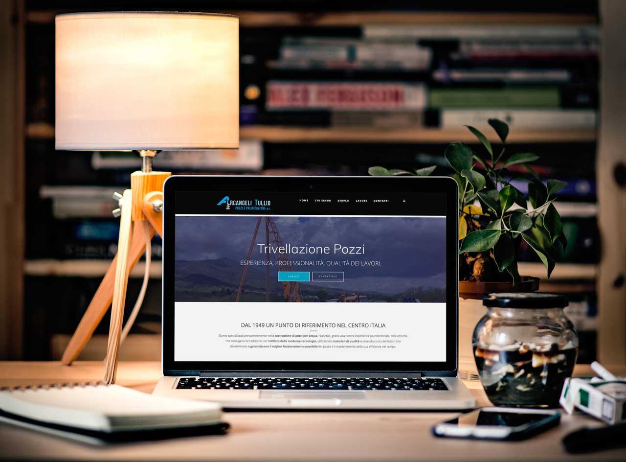 Online il nuovo sito Arcangeli Pozzi e Palificazioni